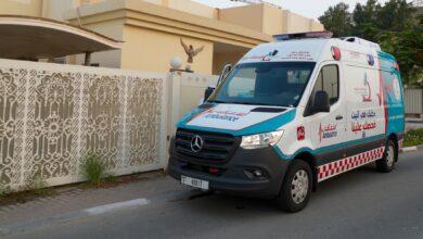 Photo of (إسعاف دبي) و (تنمية المجتمع ) تجريان فحوص كورونا لكبار المواطنين في بيوتهم