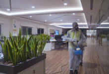 Photo of JAFZA CONDUCTS MASSIVE DISINFECTION DRIVE EQUIVALENT OF STERILISING 462 SOCCER FIELDS