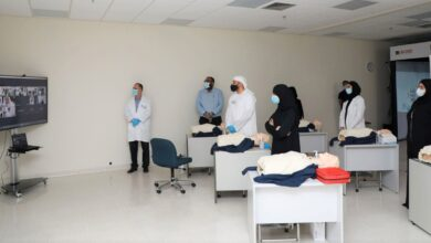 Photo of حصة بوحميد تشهد ورش المهارات السريرية الأساسية للمتطوع المساعد للطاقم الطبي