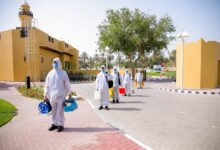 Photo of Imdaad extends a helping hand to Dubai Health Authority  by providing disinfection services at Seniors' Happiness Center