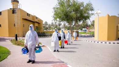 "Photo of ""إمداد"" تقدّم خدمات تطهير لـ ""مركز سعادة كبار المواطنين"""