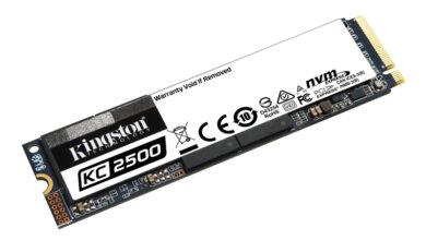 Photo of كينغستون تبدأ شحن أقراص تخزين الحالة الصلبة KC2500 NVMe PCIe بسعة 2 تيرابايت