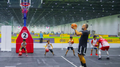 Photo of إقبال كبير على ملاعب عالم دبي للرياضة