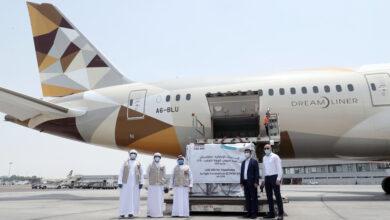 "Photo of الإمارات ترسل طائرة مساعدات طبية ثانية إلى كازاخستان لدعمها في مكافحة فيروس ""كورونا"""