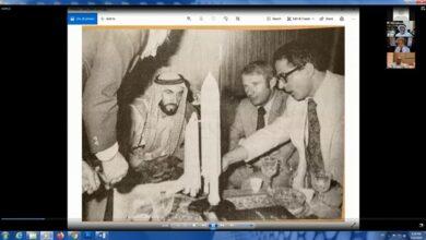 Photo of نادي الإمارات العلمي يستضيف د. فاروق الباز ويناقش استعداد الذكاء الاصطناعي للبيانات الضخمة وكيفية الاستفادة منها