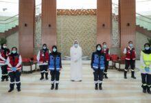 Photo of طلبة كلية ( فاطمة ) يتطوعون في إسعاف دبي
