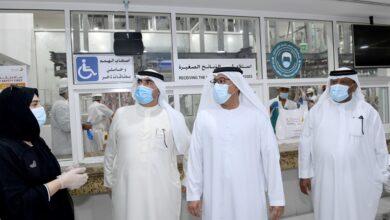 Photo of مدير عام بلدية دبي يقوم بجولة تفقدية لمقاصب دبي