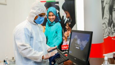 Photo of Imdaad conducts disinfection service at Emirates Red Crescent to offer safe employee and visitor experiences
