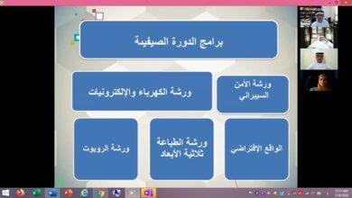Photo of نادي الإمارات العلمي يكرم منتسبي الدولة الصيفية افتراضياً