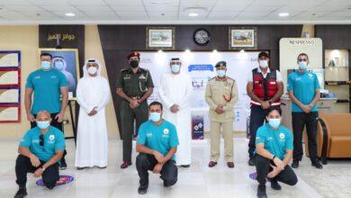 Photo of إسعاف دبي تكرم الشرطة والدفاع المدني و الإسعاف البحري