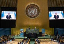 Photo of الرئيس الكازاخي يدعو لبناء نموذج عالمي جديد استعداد لاستضافة مركز إقليمي للسلامة البيولوجية
