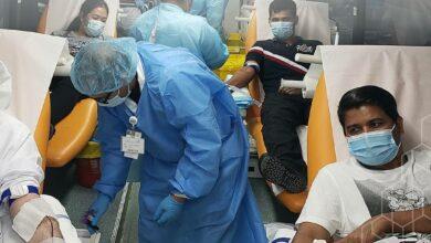"Photo of مجموعة ""ام بي اف هيلث اسكوير"" الإماراتية تنظم حملة للتبرع بالدم"