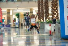 Photo of Top spots for Bouazzaoui and Gogitidze in 10K at City Centre Mirdif Running Race