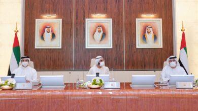 Photo of محمد بن راشد يترأس اجتماع مجلس الوزراء ويعتمد 4هياكل تنظيمية جديدة لوزارات اتحادية ويستعرض نتائج تنافسية دولة الإمارات
