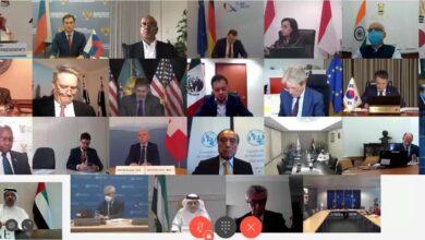 Photo of وزارة المالية ووزارة الصحة ووقاية المجتمع تشاركان في الاجتماع المشترك لوزراء المالية والصحة ضمن مجموعة العشرين