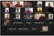 Photo of 55 فنياً يشاركون في دورة حكام المستوى الثاني