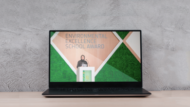 Photo of Young UAE Environmentalists Honoured at Bee'ah School of Environment's Virtual Awards Ceremony