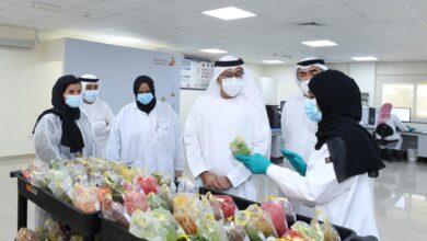Photo of مختبر دبي المركزي يستحدث مختبرا جديدا لفحص بقايا المبيدات في الخضروات والفواكه