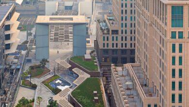 """Photo of """"أفينيو البوابة"""" في مركز دبي المالي العالمي يحصل على الشهادة الذهبية للريادة في تصميمات الطاقة والبيئة"""