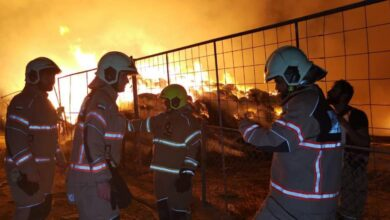 Photo of الدفاع المدني يسيطر على حريق بسوق المواشي في القصيص دون تسجيل إصابات