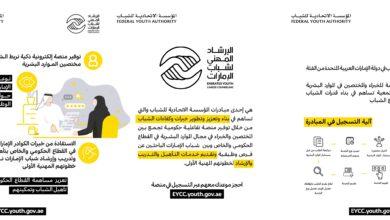 """Photo of المؤسسة الاتحادية للشباب تطلق مبادرة """"الارشاد المهني لشباب الإمارات"""""""