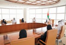 """Photo of محمد بن راشد يستقبل فريق شركة """"مارشال إنتك"""" الإماراتية الذي يستعد لإطلاق القمر الاصطناعي """"غالب"""""""
