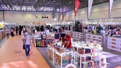 Photo of معرض الأزياء والمنتجات الإلكترونية يستقطب أكثر من 9 آلاف زائر خلال 4 أيام فقط