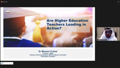 Photo of منصور العور يدعو إلى الاستثمار في المهارات القيادية والمهنية للمعلمين