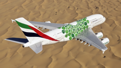 Photo of طيران الإمارات تشغل طائرة A380 وتعزز خدماتها على خط عمّان