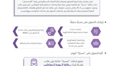 """Photo of حكومة الإمارات توفر خدمات """"مسرة"""" لكبار المواطنين من خلال الهوية و""""قبل الطلب"""""""