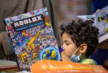 Photo of صغار الشارقة الدولي للكتاب يفتحون نوافذ من كتب ليصنعوا أحلامهم بالألوان
