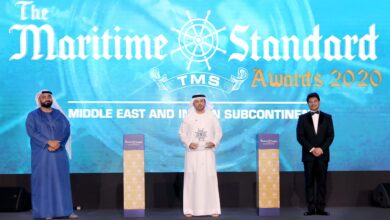 Photo of DP WORLD, UAE REGION GAINS RECOGNITION FOR ITS REMARKABLE CONTRIBUTION TO THE MARITIME INDUSTRY IN THE MIDDLE EAST
