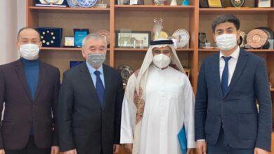 """Photo of """" معهد الدبلوماسية الثقافية """" بدبي يبرم اتفاقية تعاون علمى مع جامعة الفارابى الكازاخستانية"""
