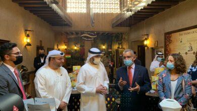 Photo of سفير البرازيل يفتتح أسبوع القهوة البرازيلي في متحف دبي للقهوة
