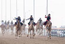 Photo of الصينية اليكسيس تحصد ناموس السباق التمهيدي الثاني لرحلة الهجن التراثية