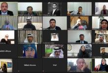 "Photo of ""العويس الثقافية"" تختتم مهرجانها الشعري الافتراضي الأول"