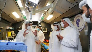 Photo of الكندي يطلع على أفضل ممارسات إسعاف دبي ويشيد بجهود خط الدفاع الأول