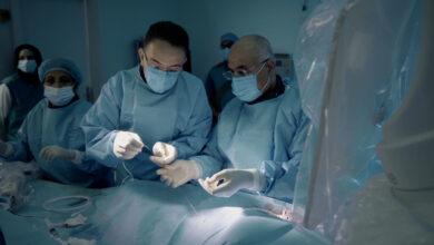 Photo of MOHAP applies DYNAMX CORONARY BIOADAPTOR SYSTEM at Al-Qassimi Hospital