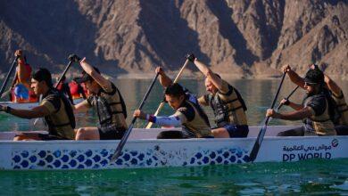 Photo of قوارب التنين تزين مياه سد حتا
