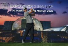 "Photo of بطولة ""الجولف في دبي"" تدخل جولات الحسم"