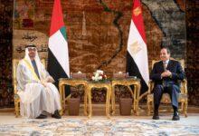 Photo of محمد بن زايد والرئيس المصري يبحثان في القاهرة.. العلاقات الأخوية والمستجدات في المنطقة