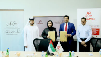 Photo of Citizen Affairs Office, Government of Ajman Signs MOU with Thumbay Group for Implementing their plan to support UAE citizens in Education, Healthcare & Lab Services