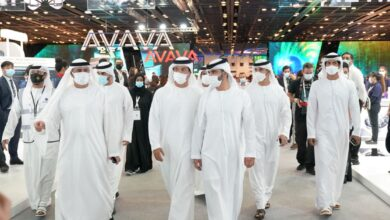 Photo of منصور بن محمد يزور جيتكس 2020 ويطلع على أحدث حلول تقنية المعلومات