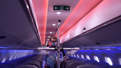 Photo of dnata to boost cabin cleaning services with cutting-edge UV technology