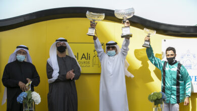Photo of السباق السادس للخيول العربية والمهجنة الاصيلة بجبل على