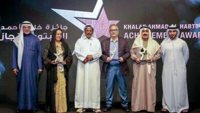Photo of خلف الحبتور يُكرّم أربع شخصيات إعلامية بارزة من العالم العربي بمنحهم جائزة خلف أحمد الحبتور للإنجاز