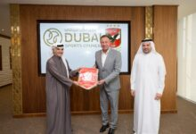 Photo of Egyptian legend Mahmoud El Khatib visits Dubai Sports Council and MBR Creative Sports Awards