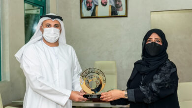 Photo of Shurooq praises selfless efforts of Covid-19 front-liners at Sharjah's Kuwait Hospital