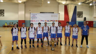 Photo of سيدات الفلبين يفوز بكأس دبي للجاليات لكرة السلة