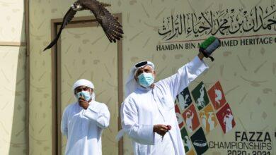 Photo of Sheikh Mohammed bin Rashid bin Mohammed Al Maktoum crowns the 'Elite' (Noukhba) champions of Fakhr Al Ajyal